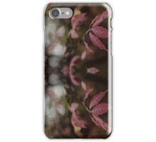 Autumnal Rorschach iPhone Case/Skin