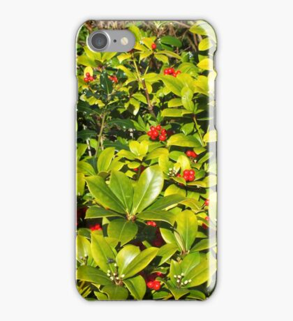 Red Berry Tastic iPhone Case/Skin