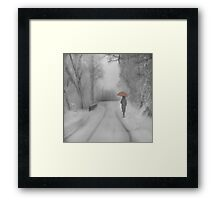 And Winter came Framed Print