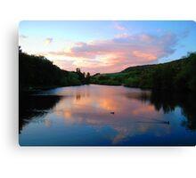 Evening Lake Canvas Print
