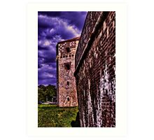 Tower Nebojsa Fortress Kalemegdan Belgrade Art Print