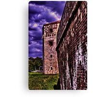 Tower Nebojsa Fortress Kalemegdan Belgrade Canvas Print