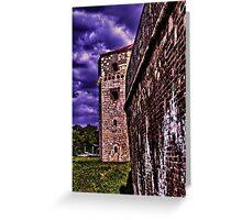 Tower Nebojsa Fortress Kalemegdan Belgrade Greeting Card