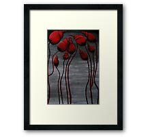 Seashell Blossoms Framed Print