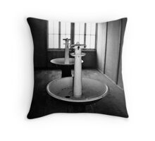 Dachau Throw Pillow