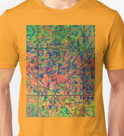 Grunge Painting Background Unisex T-Shirt