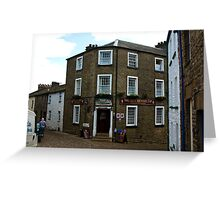 The George and Dragon Inn - Dent Greeting Card