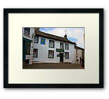 The Sun Inn  - Dent Framed Print