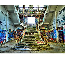 Stair Way To Madness Photographic Print