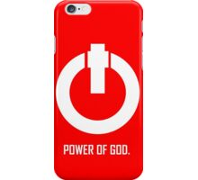 ACTS 8:10  POWER OF GOD iPhone Case/Skin