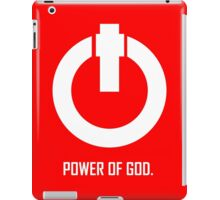 ACTS 8:10  POWER OF GOD iPad Case/Skin