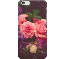 Cottage Garden Roses iPhone Case/Skin