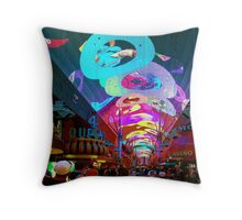 The Fremont Street Experence Throw Pillow