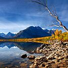 Saint Mary&#x27;s Lake in Fall. Glacier National Park. Montana. USA by photosecosse /barbara jones