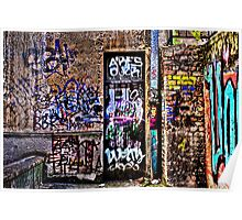 Urban Decay Europe Fine Art Print Poster