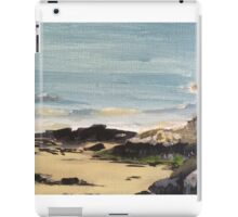 Maenporth Beach Rock Detail  iPad Case/Skin