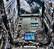 Old European Passage Belgrade by stockfineart