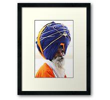 Nihang Sikh Framed Print
