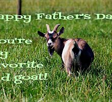 Happy Father's Day Old Goat by Darlene Lankford Honeycutt