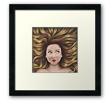 Zoella Framed Print