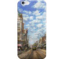 City - NY - Main Street. Poughkeepsie, NY - 1906 iPhone Case/Skin