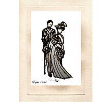 Nostalgic ink drawing Photographic Print