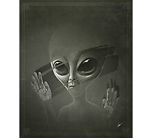 Alien Photographic Print