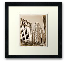 THE NEW YORKER HOTEL BACK IN THE DAYS Framed Print