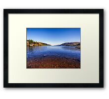 The Shores of Loch Ness Framed Print