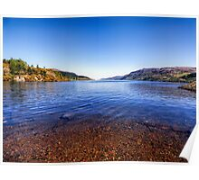The Shores of Loch Ness Poster
