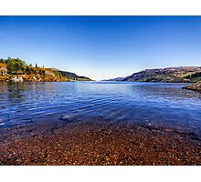 The Shores of Loch Ness Photographic Print