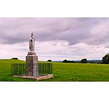 Statue of St Patrick at the Hill of Tara. Co, Meath. Photographic Print