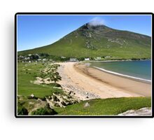 Irish beach views Canvas Print