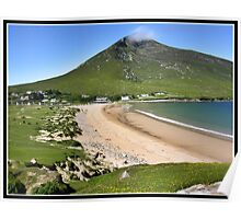 Irish beach views Poster