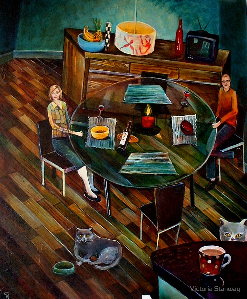 Dinner Time. by Victoria Stanway