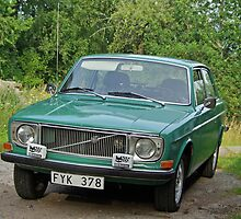 Volvo 142 from 1972 by Paola Svensson