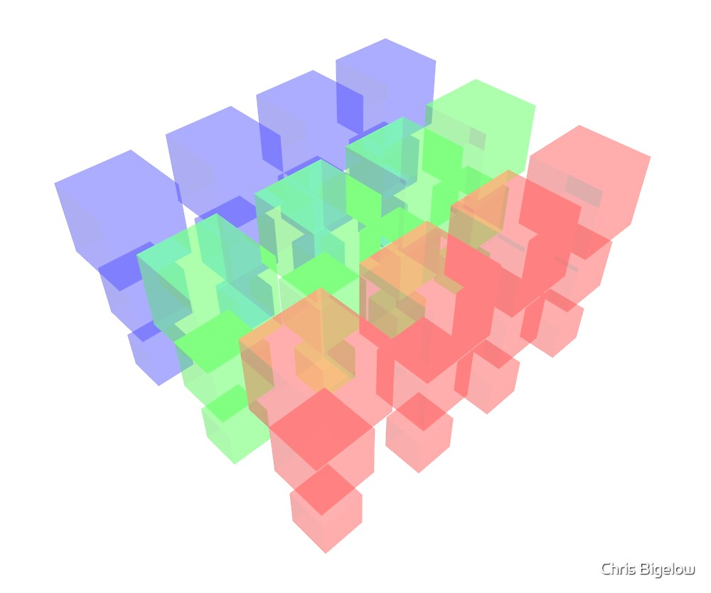 Transparent Cubes by Chris Bigelow