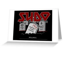 SUDO - Heavy Metal Sysadmin Greeting Card