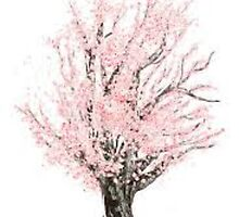 Cherry Blossom Tree by AmarieB