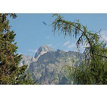 Tatras Mountains in Slovakia Photographic Print