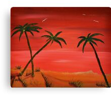 of a summers eve Canvas Print