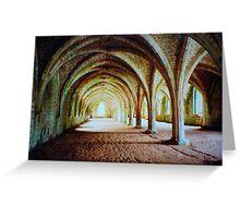 Fountains Abbey - Cellarium Greeting Card