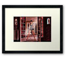 Secret Door Fine Art Print Framed Print