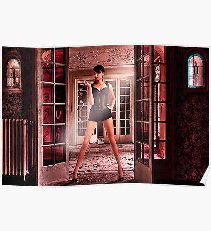 Secret Door Fine Art Print Poster