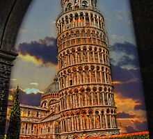 The Leaning Tower of Pisa, Italy by vadim19