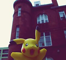 Pikachu Hall by jackshoegazer