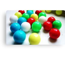 coloured candy Canvas Print
