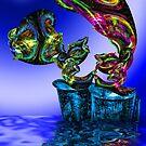 Glass Burst by GolemAura