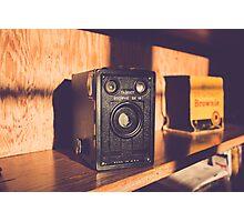 Vintage Brownie Target Six-16 Black Box Camera Photographic Print