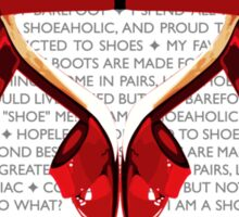 Shoe Mania Sticker